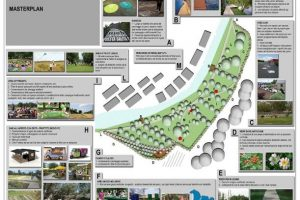 Il progetto del nuovo parco urbano di Grassina (per gentile concessione  Comune di Bagno a Ripoli)