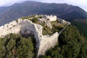 Monte Verruca, la fortezza