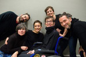 Alcuni volontari del Centro Grossomodo. (Foto di Giulia Breschi).