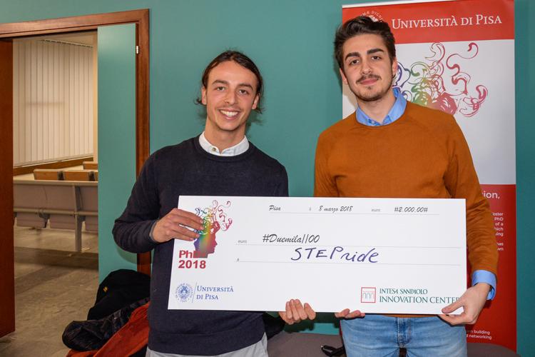 Giulio Santi e Federico Cinquini. (Foto da Università di Pisa).