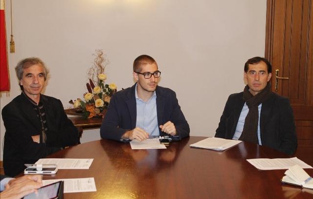 Matteo Francesconi, Rossano Ercolini ed Enrico Gatti (foto Comune di Capannori)