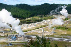 La centrale geotermica di Bagnore (foto Enel Green Power)