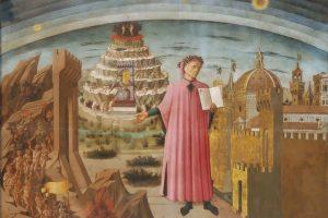 Domenico di Michelino, Dante (1465). Duomo di Firenze