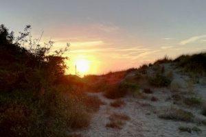 Dune_tirrenia_Tramonto