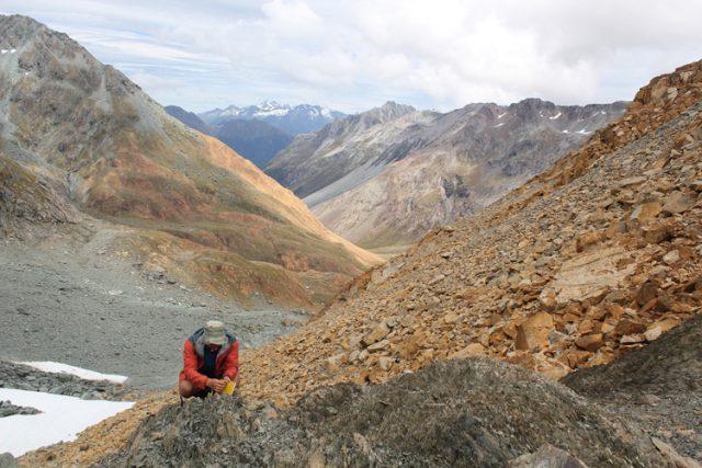 La faglia di Livingstone in Nuova Zelanda. (Foto da Università di Otago).
