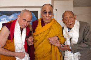 Nick Vreeland con il Dalai Lama