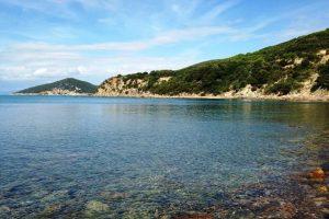 La spiaggia delle Cannelle (foto Parco della Maremma)