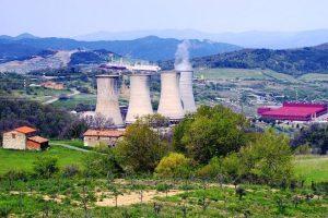 La centrale geotermica di Larderello