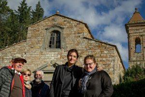 Alcuni membri del comitato Save Sillano (foto da Comune di Greve in Chianti)