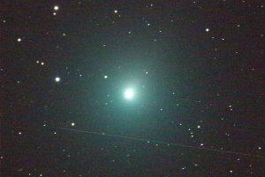 La cometa di Natale (foto da Planetario di Stia)