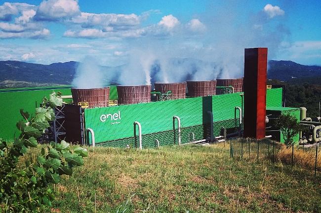 La centrale di Bagnore 4, Santafiora (Grosseto)