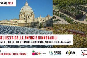La bellezza delle rinnovabili_convegno 18 gennaio