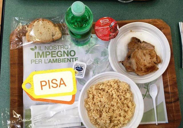 Foto dalla pagina Facebook di Greenpeace Gruppo locale Pisa