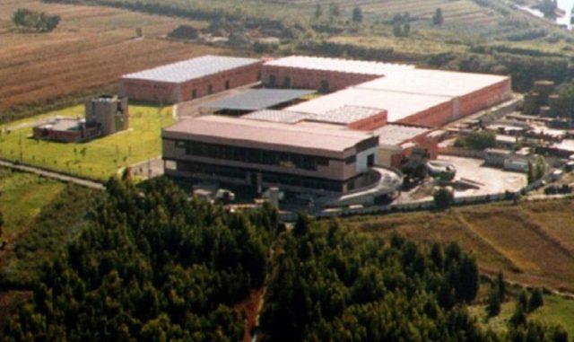 L'impianto di selezione e compostaggio di Massarosa (Lu)