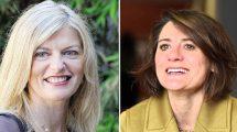 Da sinistra Barbara Mazzolai e Cecilia Laschi. Foto dai rispettivi profili Facebook.