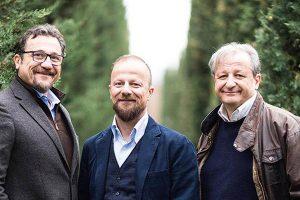 I fratelli Mati. Da sinistra Francesco, Paolo e Andrea. Foto da www.piantemati.com