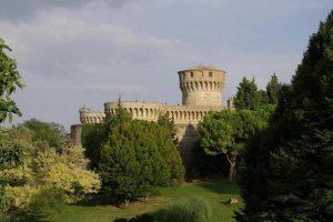 La fortezza medicea sede del carcere di Volterra