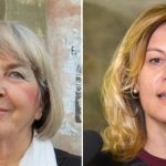 La dottoressa Patrizia Gentilini (ISDE) e l'assessore regionale all'Ambiente Federica Fratoni