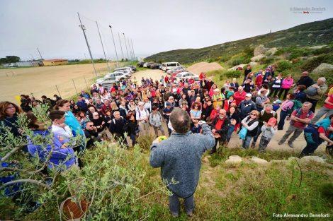L'arrivo dei partecipanti (foto di Alessandro Beneforti)