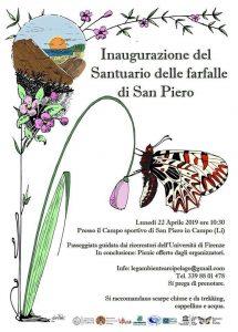 Santuario delle Farfalle manifesto