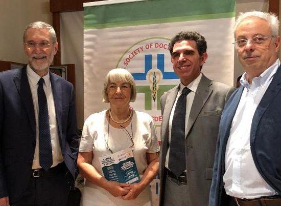 Una parte dei componenti della giunta naz. ISDE: Ferdinando Laghi, Patrizia Gentilini, Agostino Di Ciaula, Roberto Romizi