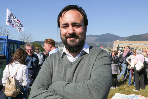 Il sindaco Edoardo Prestanti. (Foto da www.facebook.com/edoardo.prestanti).