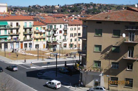 Piazza Mazzini 'riqualificata'