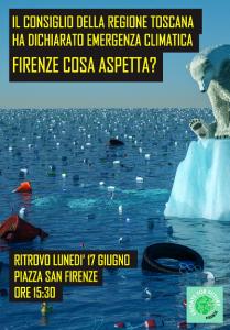 Fridaysforfuture Firenze_locandina