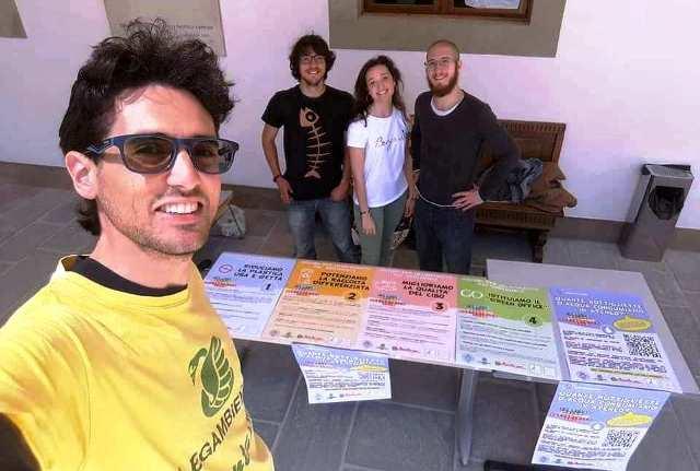 Foto dalla pagina Facebook di Legambiente Pisa