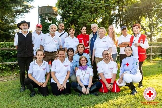 Operatori della Croce Rossa Grosseto