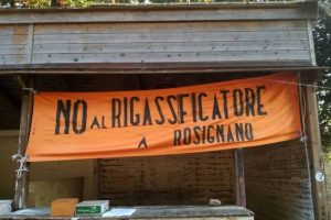 No rigassificatore Rosignano