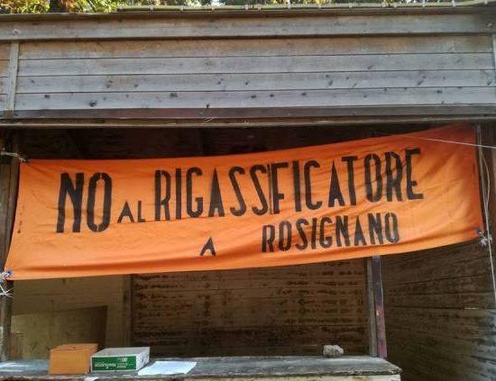 No rigassificatore Rosignano