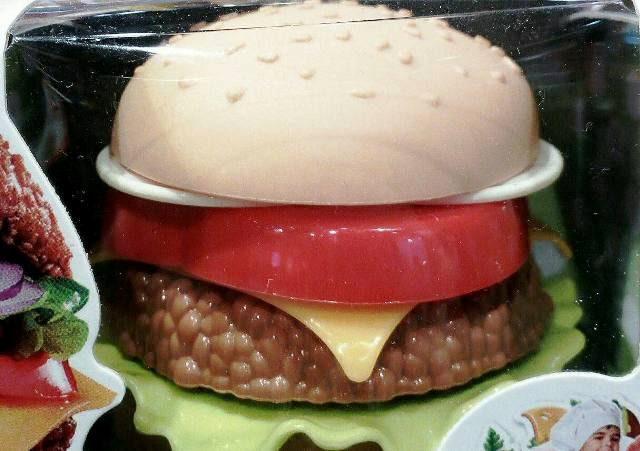 hamburger plastificato