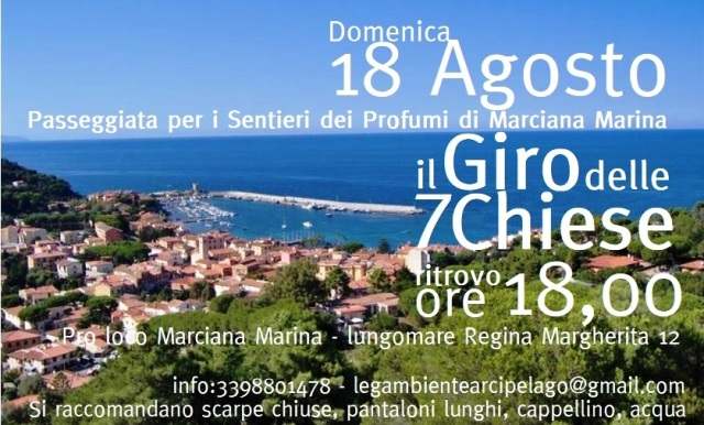 18 agosto 7 Chiese