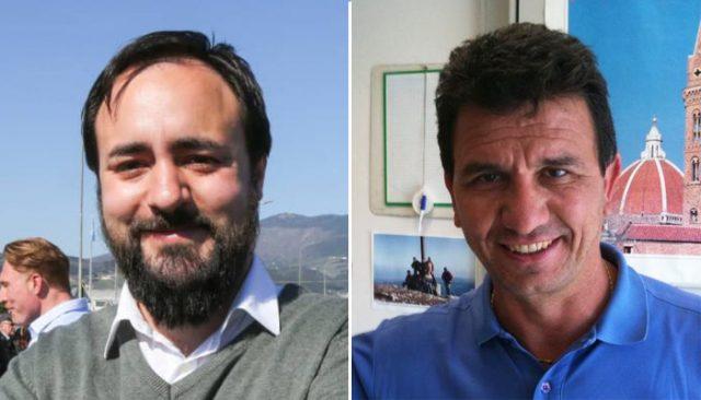 Da sinistra Edoardo Prestanti e Roberto Marini.