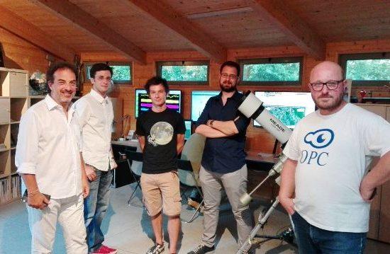 Il team dell'Osservatorio polifunzionale del Chianti