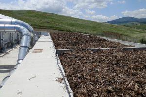 Un impianto di compostaggio (foto Sienambiente)
