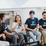I protagonisti del progetto Blue Eco Line. (Foto da pagina Facebook).
