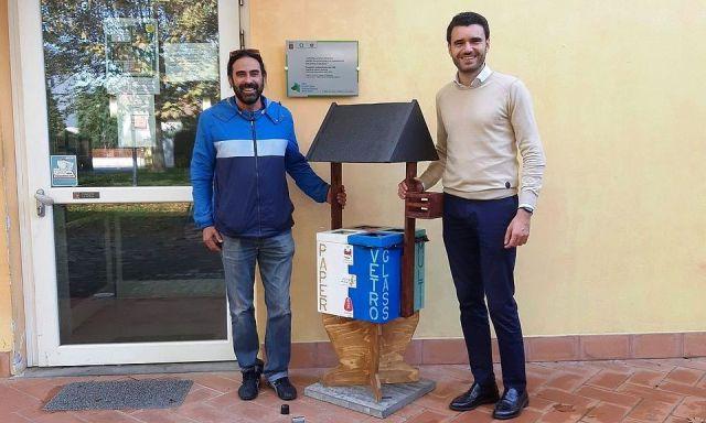 L'assessore Giordano Del Chiaro e il direttore di 'Daccapo' Daniele Guidotti