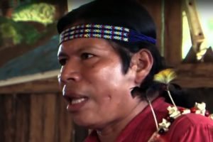 """Un'immagine tratta dal film """"I discendenti del giaguaro""""."""
