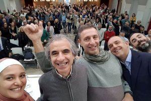 Da sinistra: Esra Tat, Rossano Ercolini, Enzo Favoino e Luca Menesini