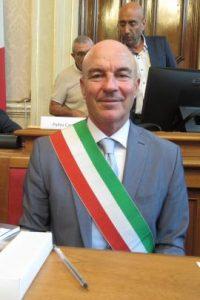 Il sindaco di Livorno Luca Salvetti
