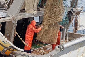 Uno dei pescherecci coinvolto nel progetto 'ArcipelagoPulito'. (Foto Regione Toscana)