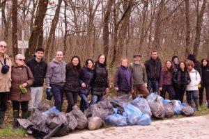 Amici del Padule di Fucecchio, giornata di pulizia al lago di Sibolla