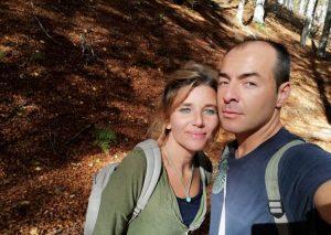 foto nel bosco