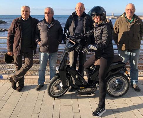 Marina Graziani. Foto da pagina Facebook.