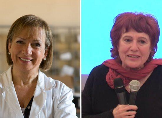 Da sinistra Fiorella Belpoggi e Tiziana Vigni