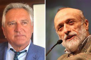 Da sinistra Marco Neri e Carlo Petrini.