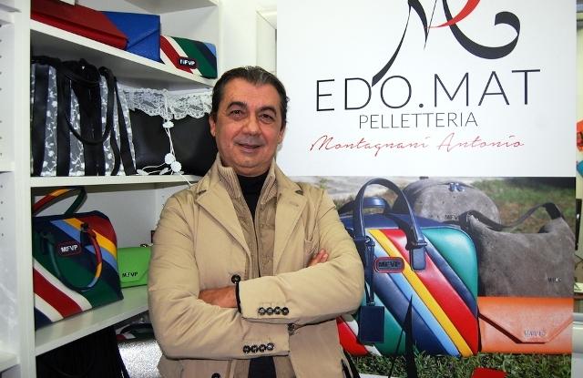 Il titolare di Edo.Mat ed Elys Color Antonio Montagnani