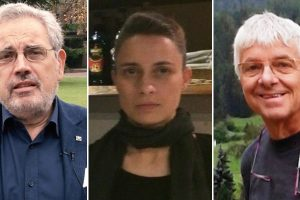 Da sinistra Ugo Bardi, Simona Re e Gianluca Garetti